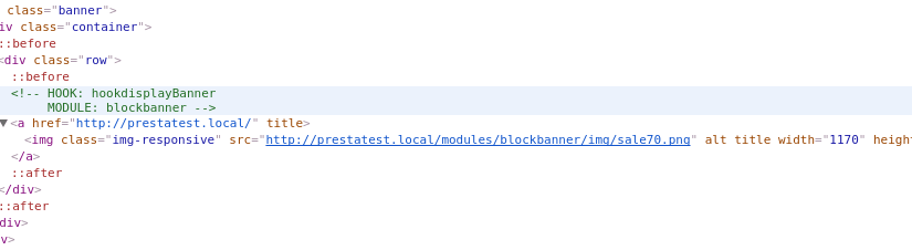 [Prestashop] Nazwy haków i modułów przed każdym wyświetlanym fragmentem sklepu
